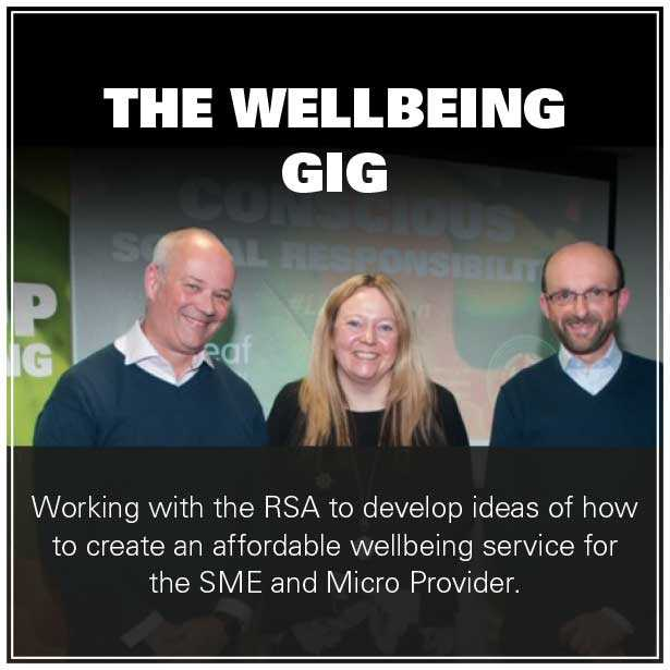 The Wellbeing Gig