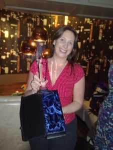 Kate - NHS award