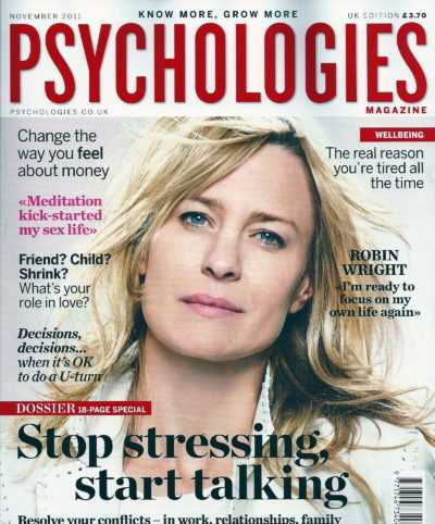 New Leaf Coaching Featured in Psychologies Magazine November issue