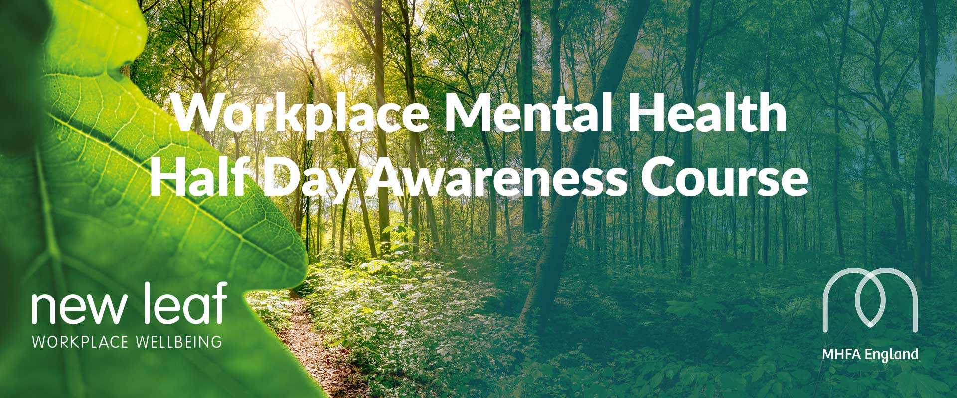 Workplace Mental Health Half Day Cpurse Becky Wright New Leaf