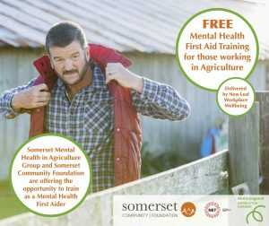 Mental Health First Aid Agriculture Somerset
