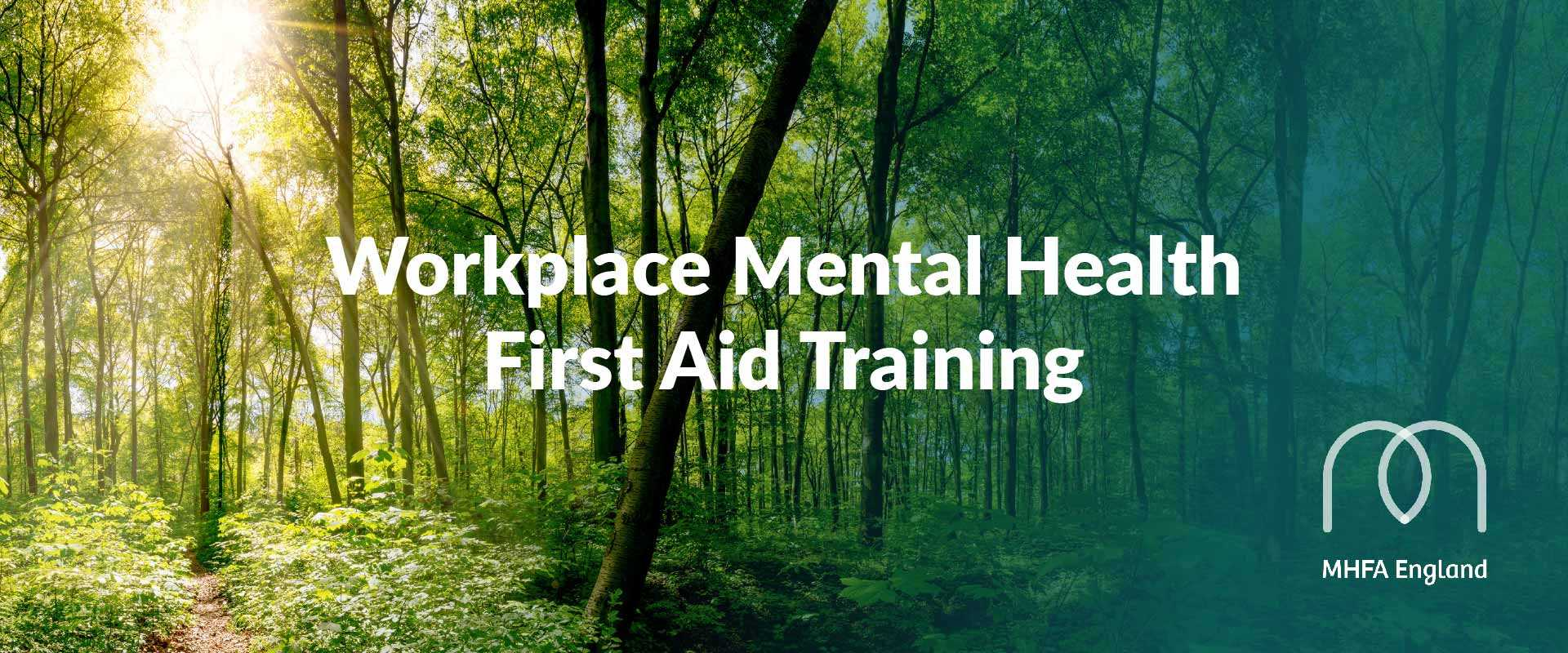 Workplace mental health first aid training