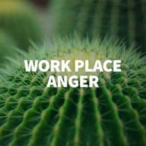 work place anger